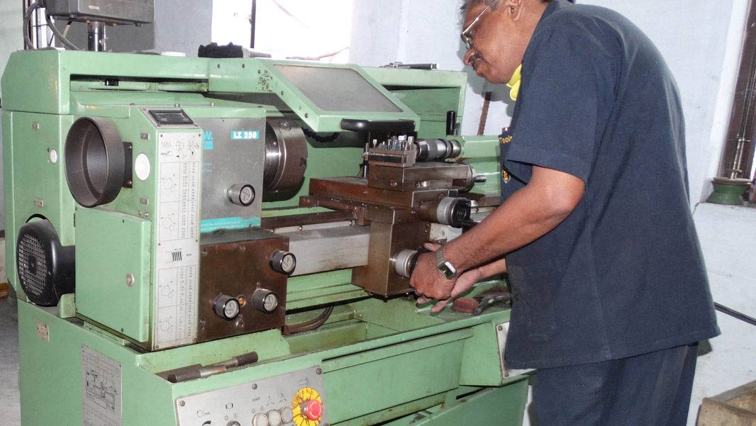 Lathe, Milling and Brazing